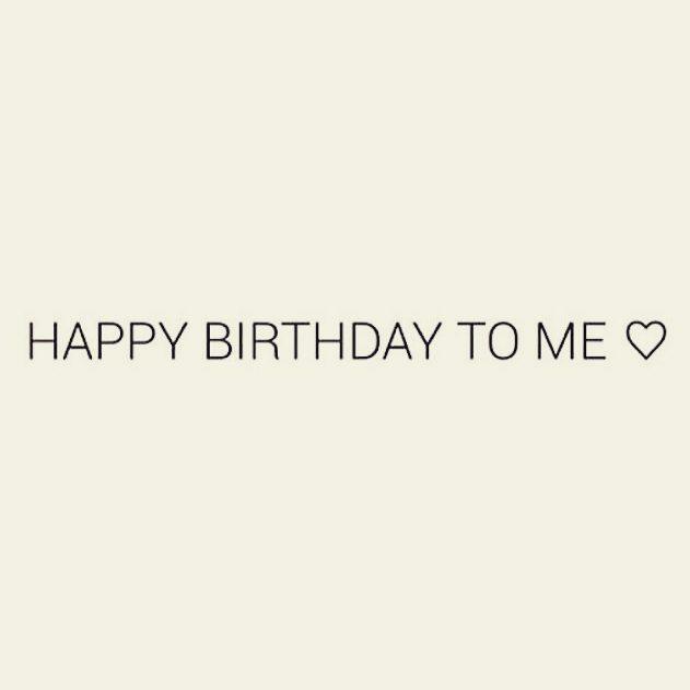 happy birthday to me picture