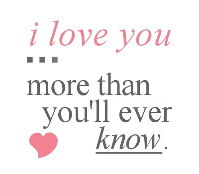 I Love You More Quotes 150+ I Love You More Than Quotes and Sayings – Funny & Romantic I Love You More Quotes