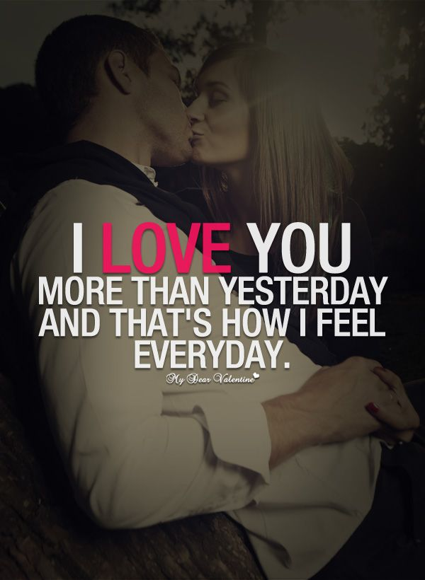 i love you more than quotes for him