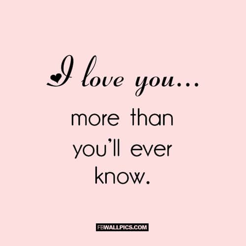 150 I Love You More Than Quotes And Sayings Funny Romantic