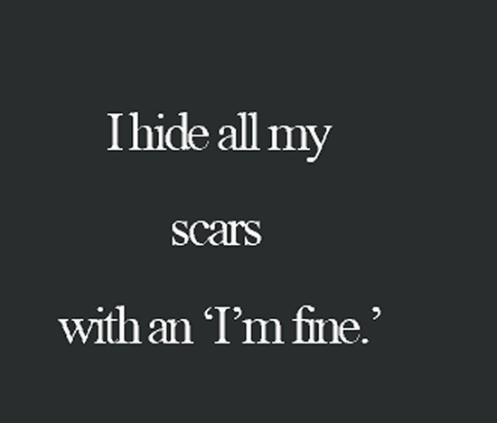 Scars Speak: 25 Self Harm Quotes That Can Help You Instantly Feel Better