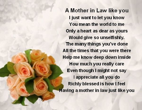40 Beautiful Heart Touching Mother In Law Quotes