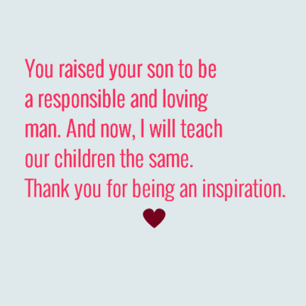 thank you mother in law quotes