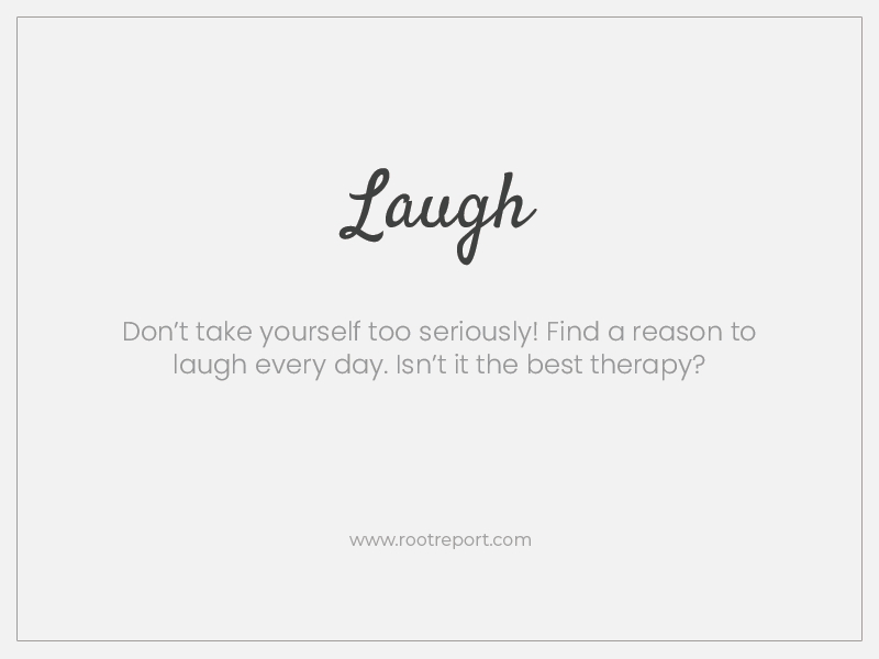 Laugh one word quote