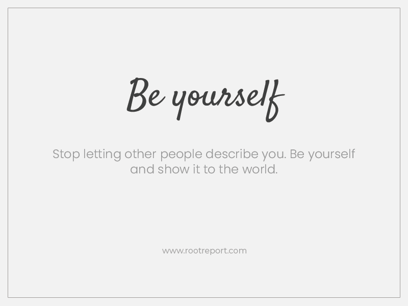 be-yourself-two-word-quotes