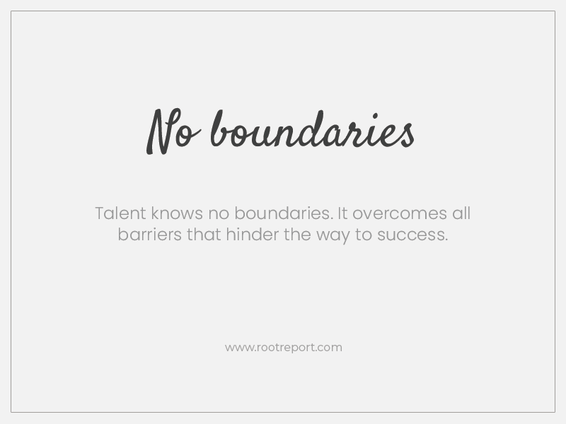 no boundries two word quotes