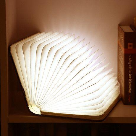 14. Booklit Lamp