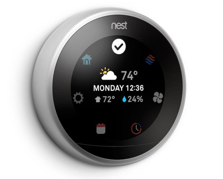 3. Smart Learning Thermostat