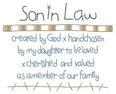 quotes about son in law